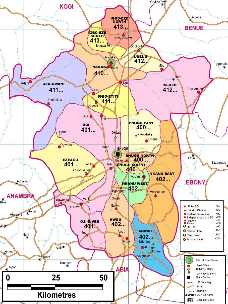 List Of Towns And Villages In Enugu State Archives Page