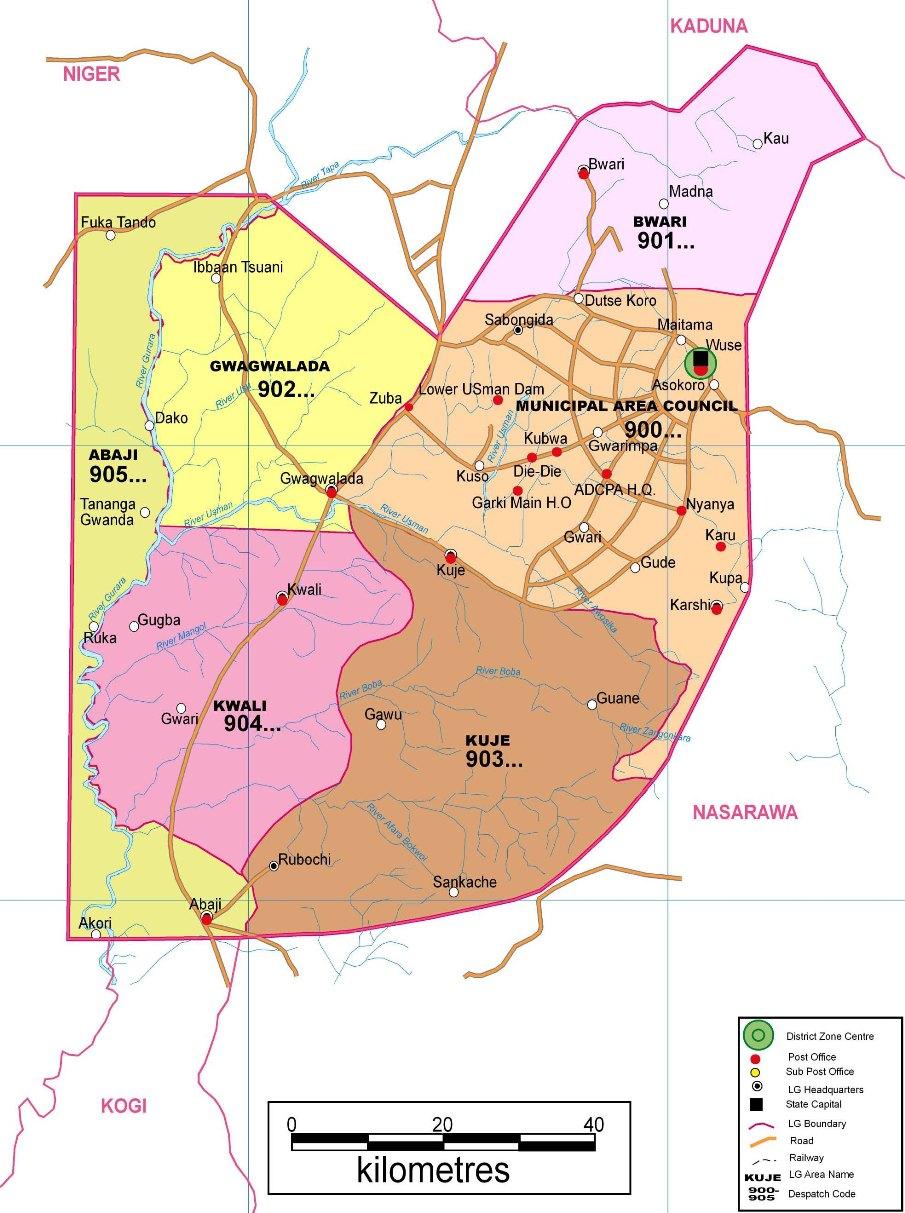 Abujafct Zip Code Map