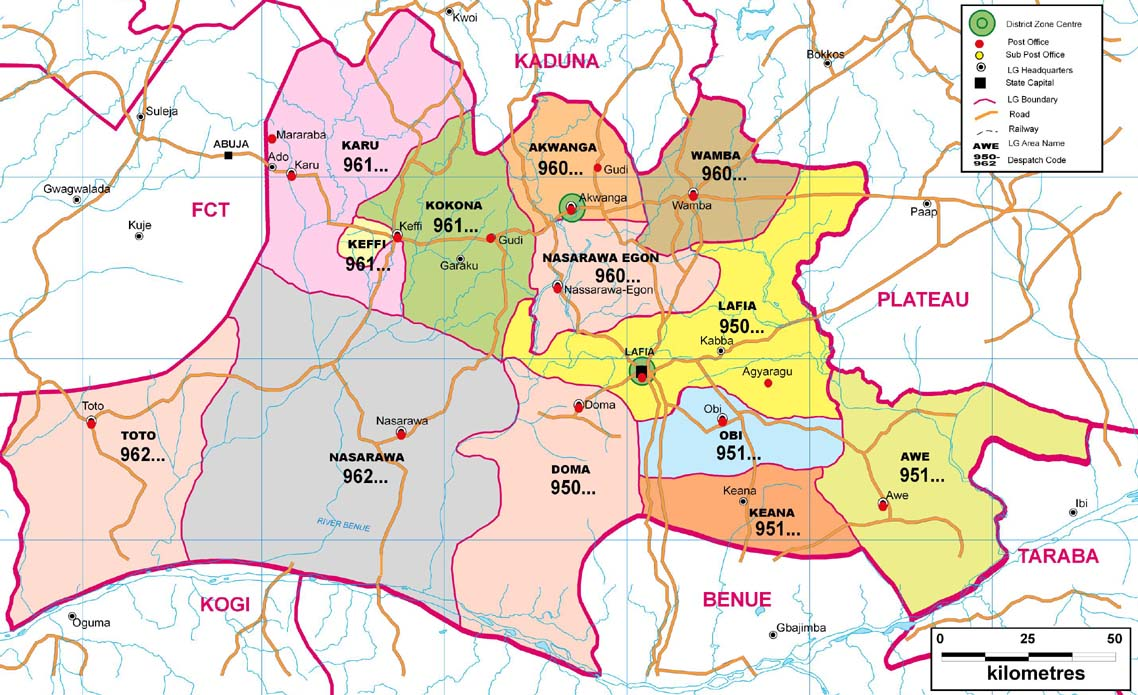 Narawa State Zip Code Map on map of west indies, map of idaho, map of bauchi, map of benin city, map of port harcourt, map of abuja, map of zaria, map of nigeria, map of kano,
